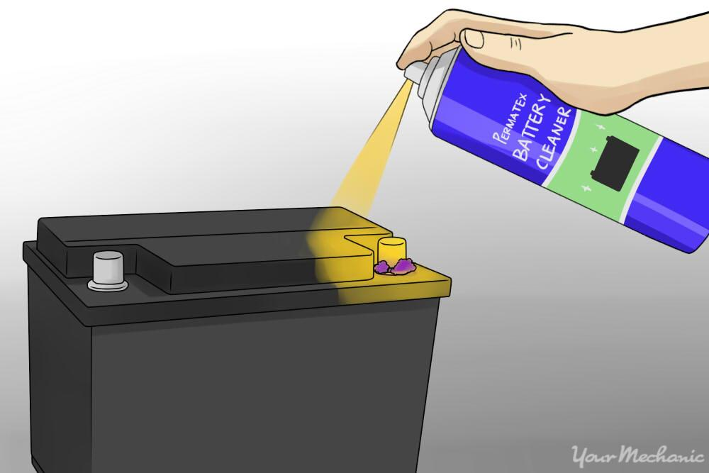 How To Clean Car Battery Terimnal