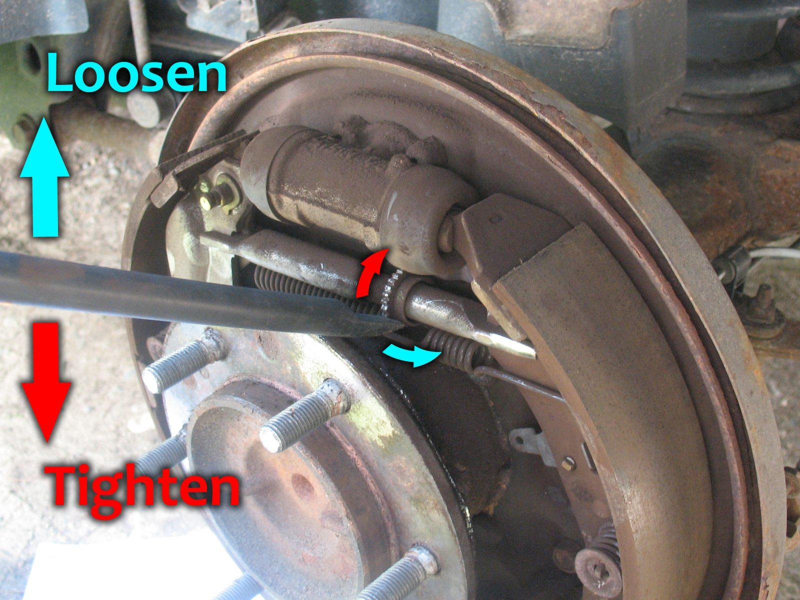 Turning Brake Drums In Steps Car From Japan