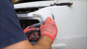 Glazing Putty Dent car