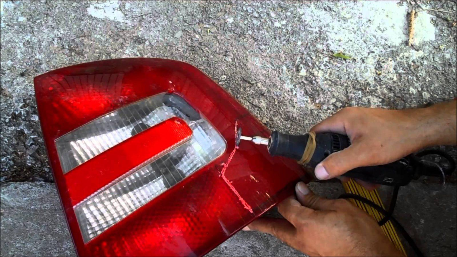 Tail light repair how to fix broken tail light at home tail light repair aloadofball Choice Image