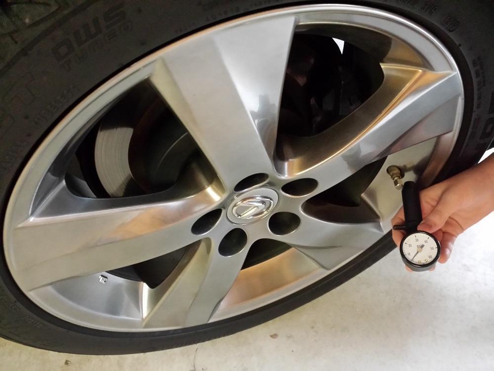 tire pressure and temperature