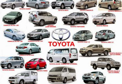 Most common affordable Toyota cars in Kenya