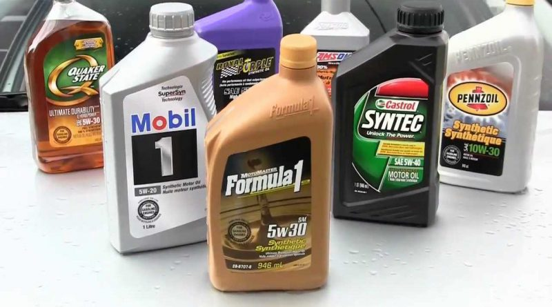 High Performance Motor Oil Brands