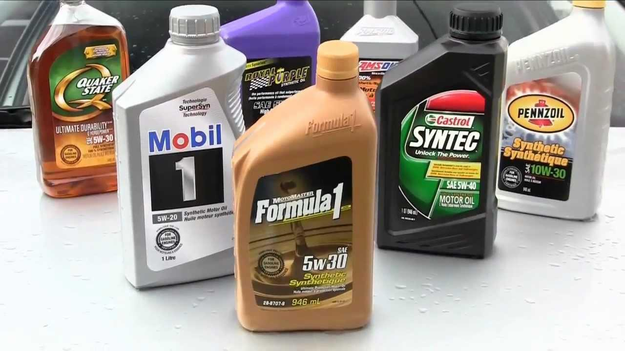 Motor oil brands best performance brands popular oil for Types of motor oil