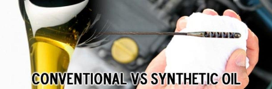 the difference between synthetic oil and conventional oil