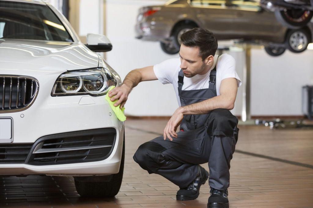 How to repair hail damage on car