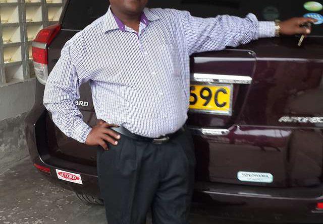 Benson Mutie Maithya reviews Toyota Vanguard 2010 and give 5 ratings