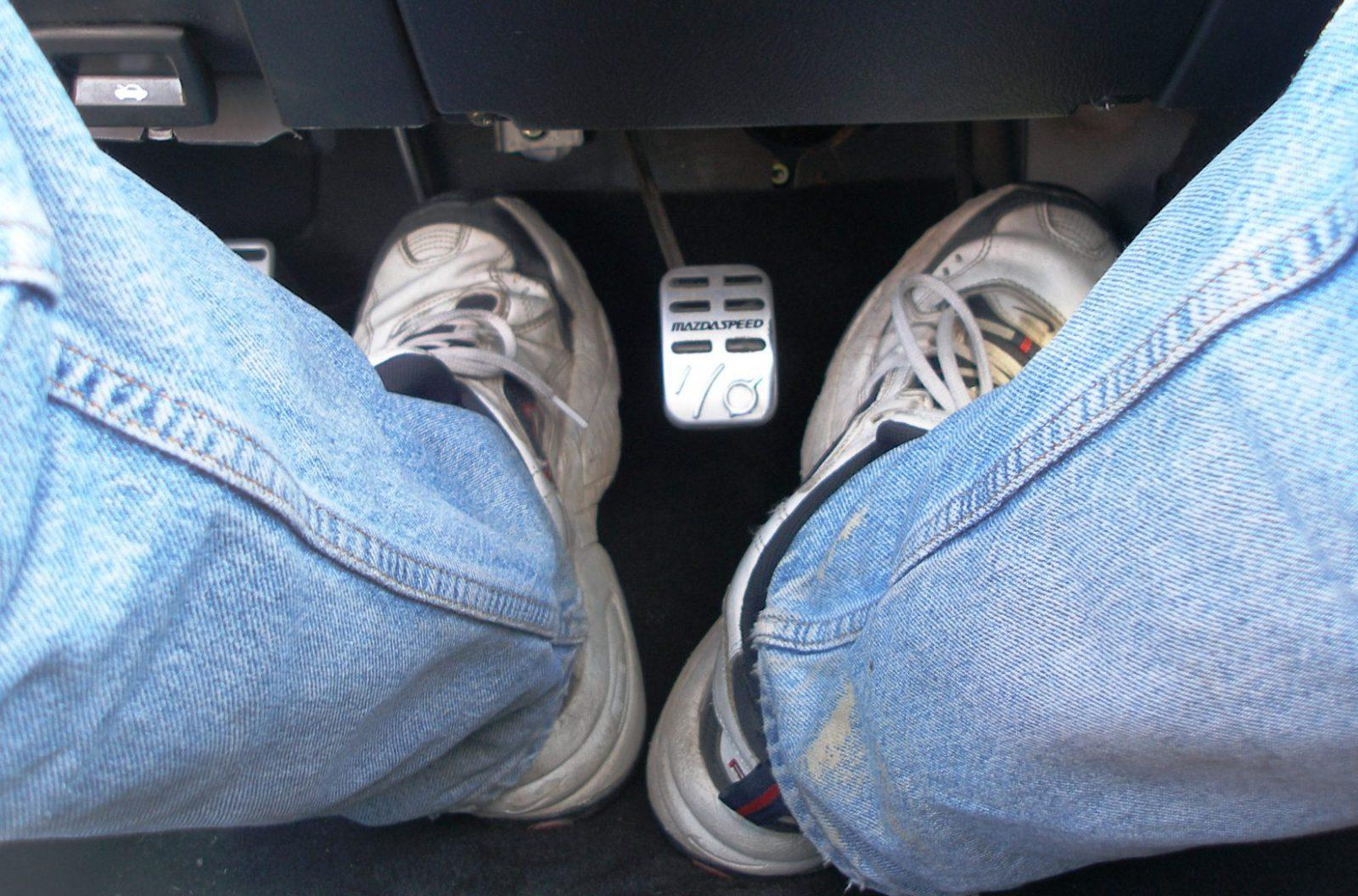 foot driving