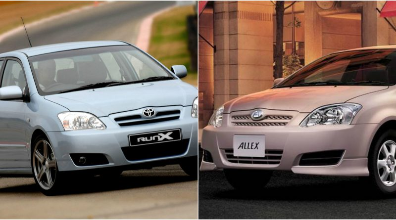 Difference between toyota RUNX and ALLEX