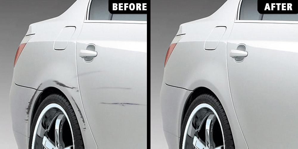 How To Remove Old Paint Scuffs On A Car