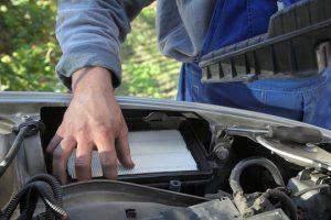 Replace Car Air Filter