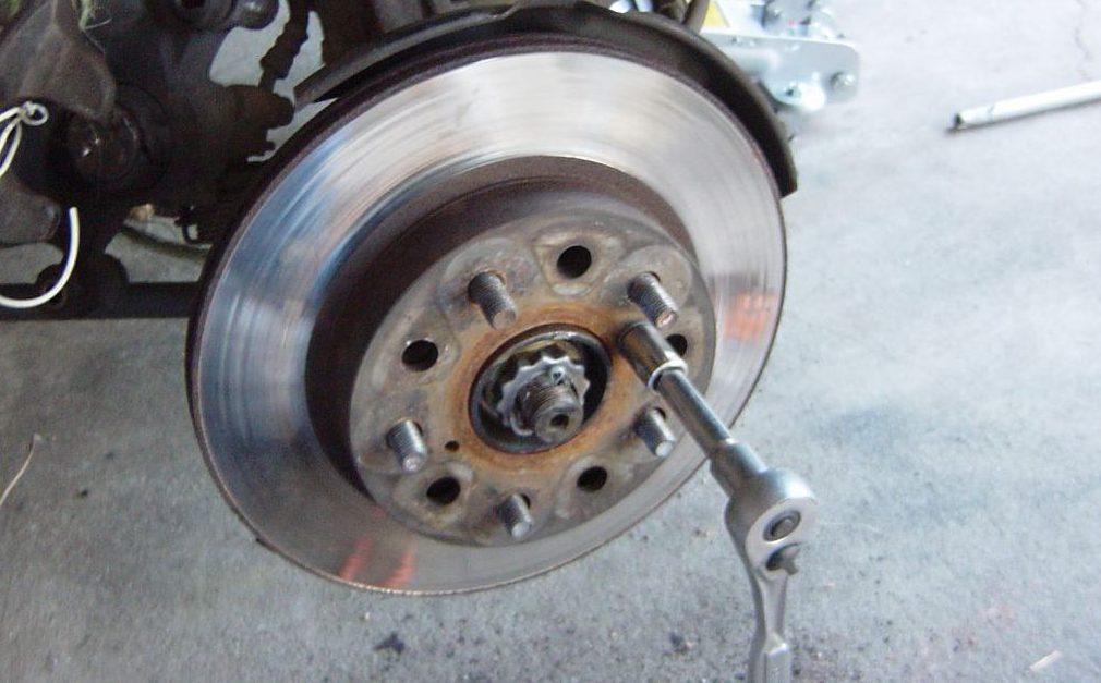 Rotor brake car
