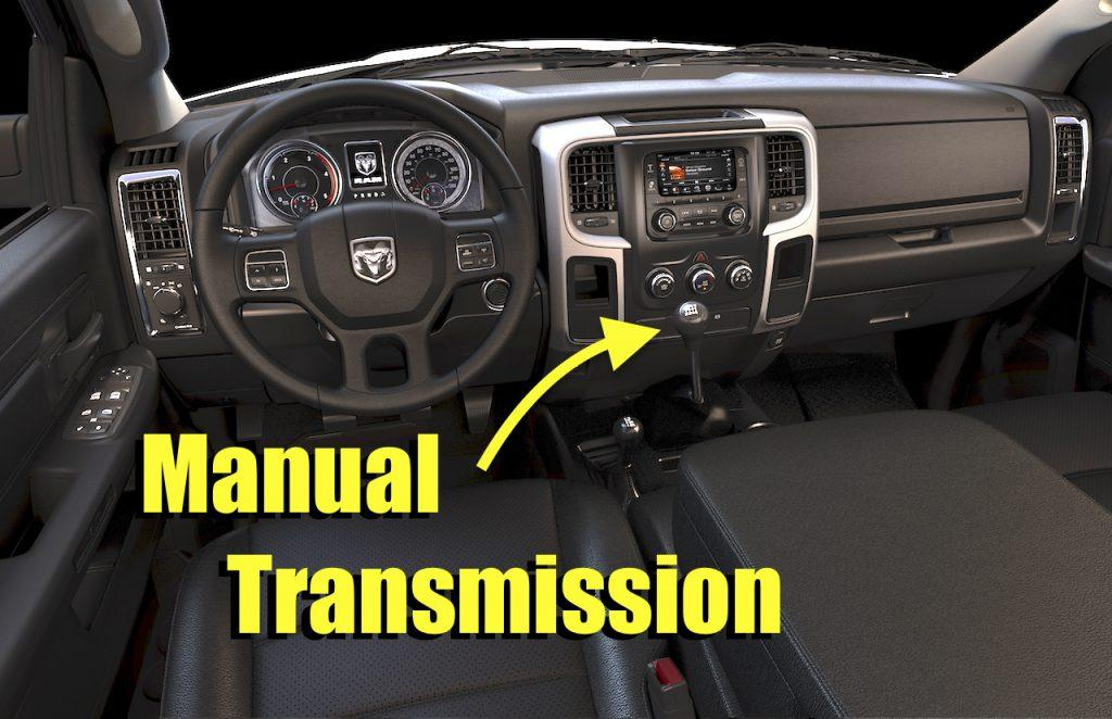 What is manual transmission?