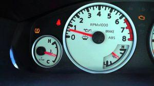 Car engine temperature Meter