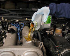 poor oil engine