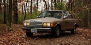 Old car is energy efficiency