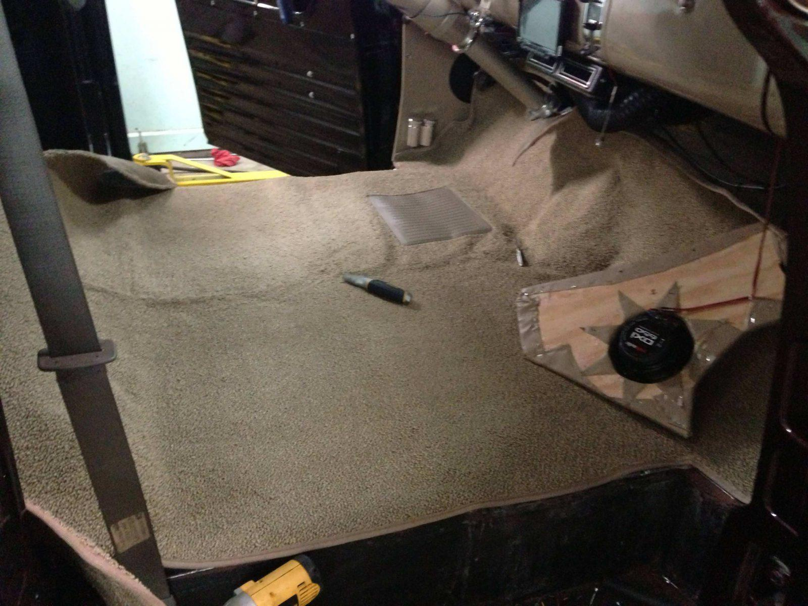 Car carpet
