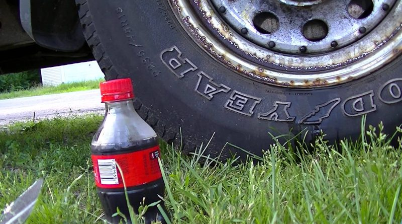 Process to Remove Car rust with Coca-Cola