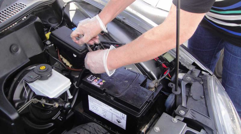 Change Car Battery Steps