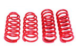 Lowering Springs with Suspension mods reduces the grip on the road