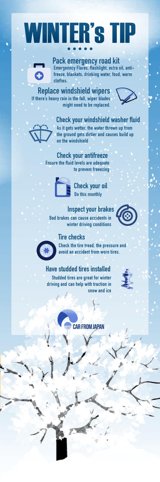Wintermaintenance tips