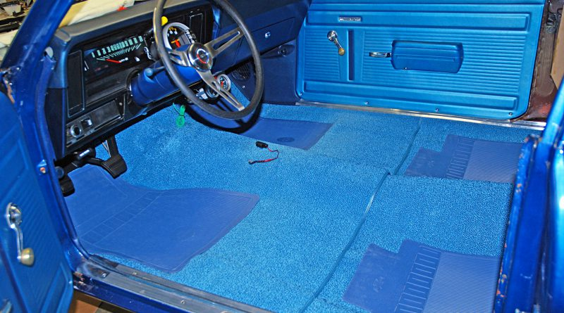 Change car carpet