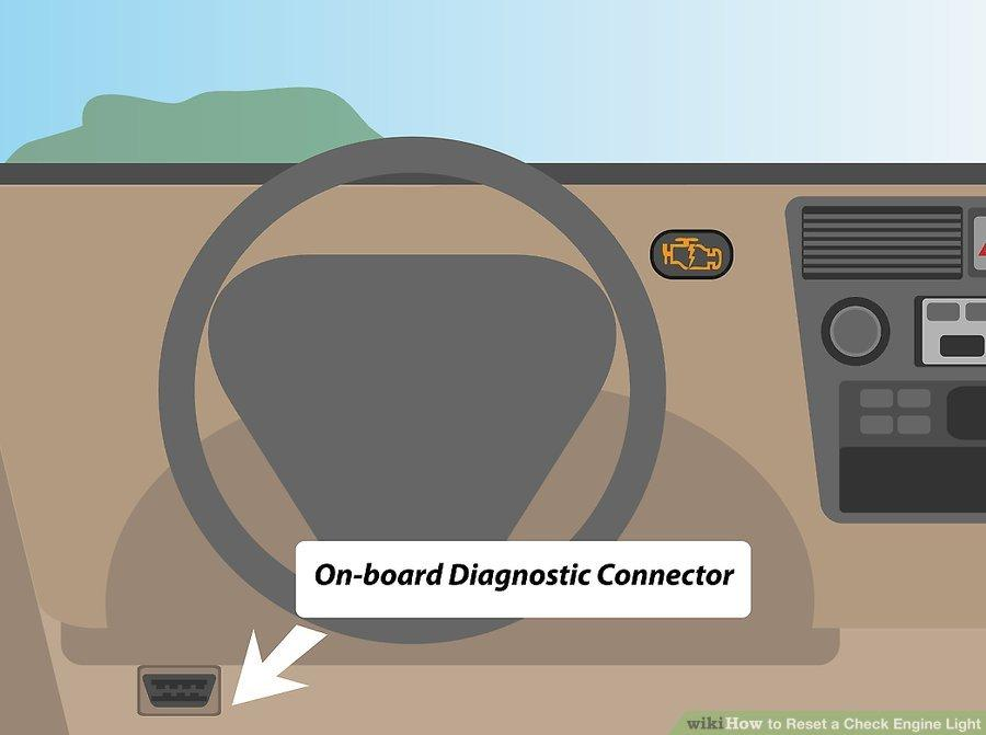 How to reset check engine light by a scan tool