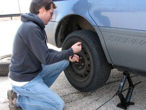 Tire install