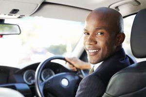 Drivers look behind