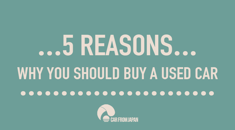 Why You Should Buy A Hire Car: [Infographic] 5 Reasons Why You SHOULD Buy A Used Car