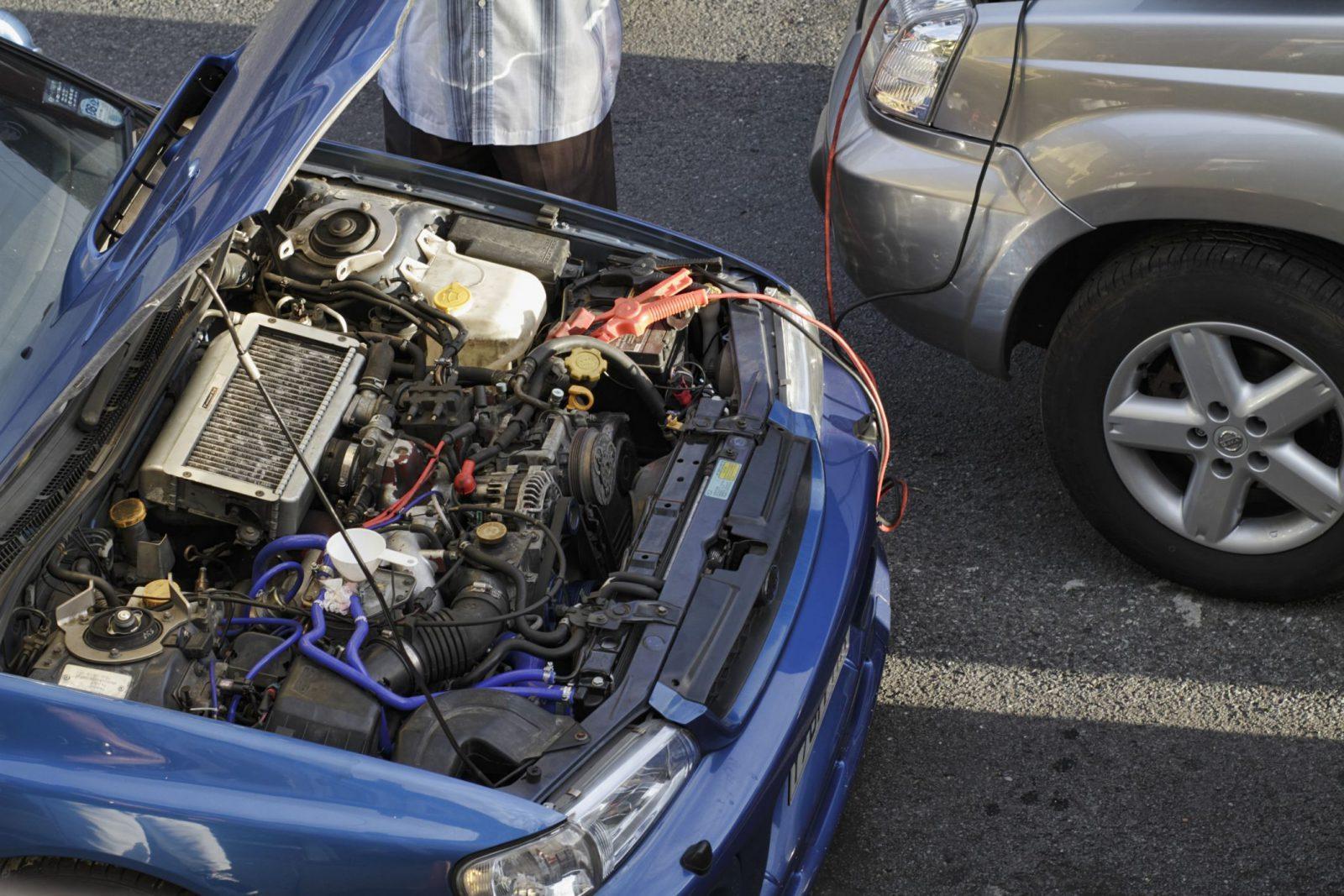 Never drive Dead battery car