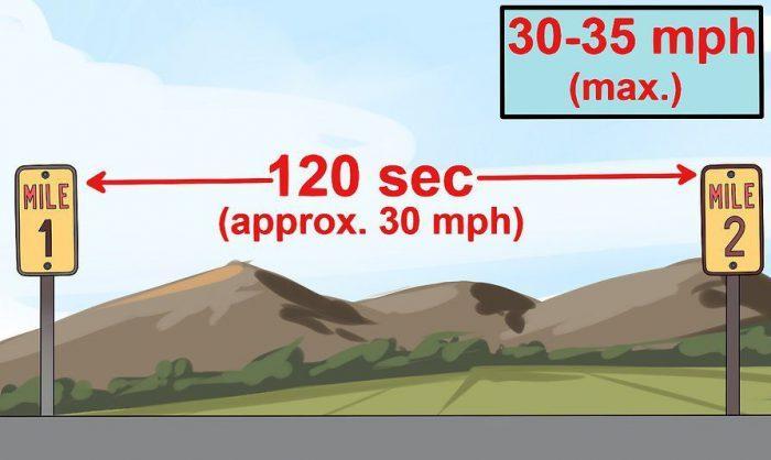 calculate car speed