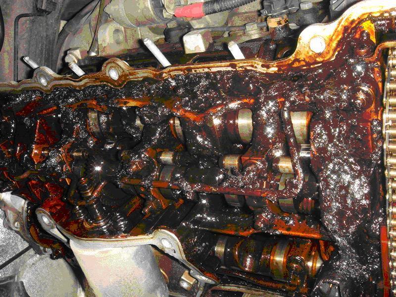 dirt on engine
