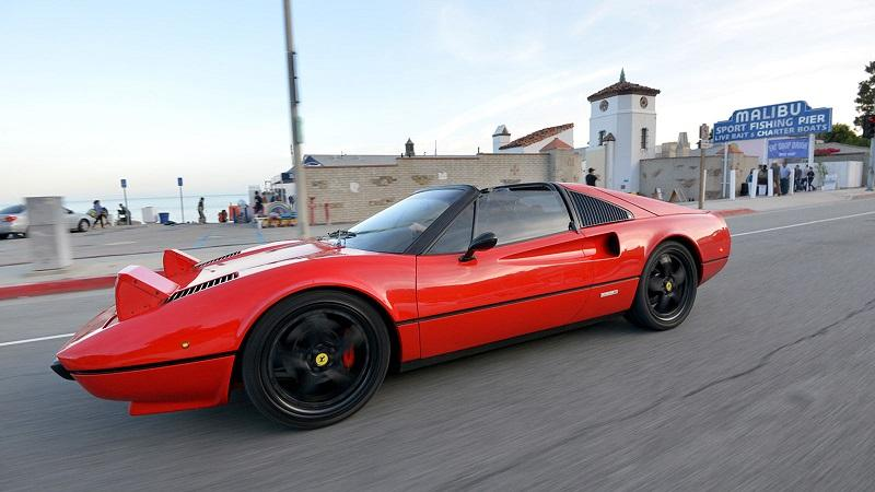 Electric Ferrari With A Manual Gearbox