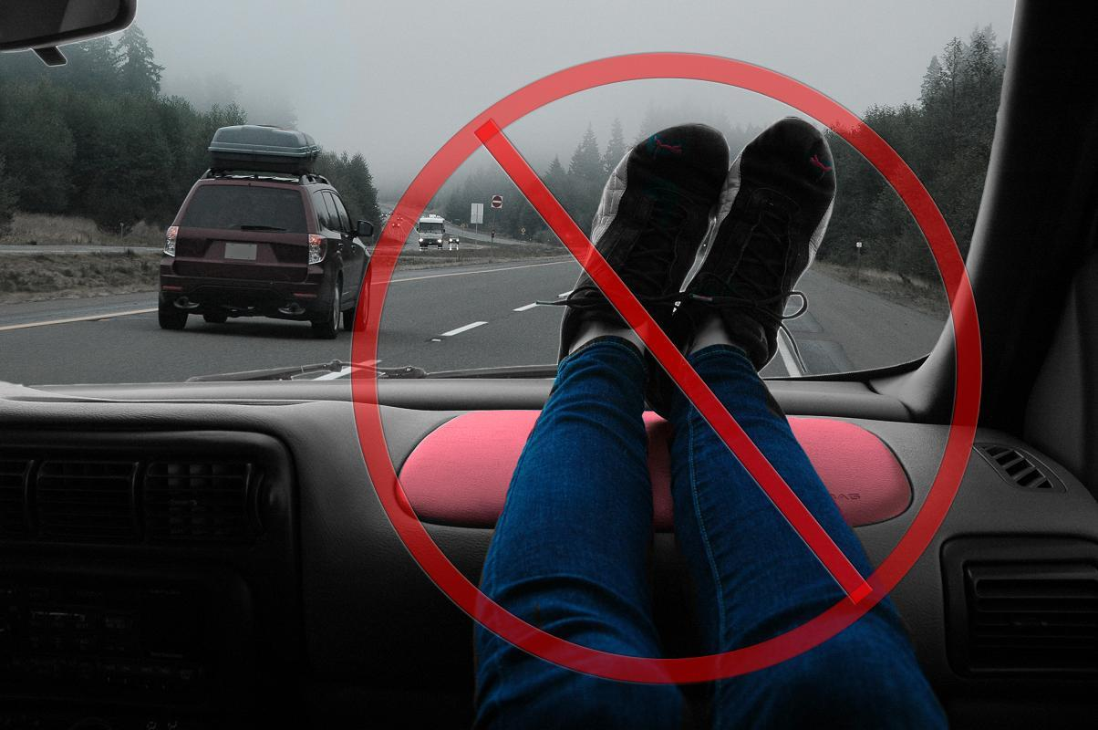 Rest Your Feet On The Dashboard