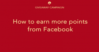 Earn more point from Facebook