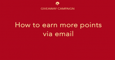 earn more point via email