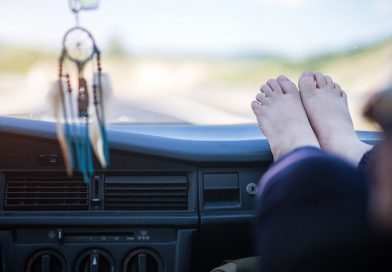 You Won't Ever Want to Rest Your Feet on the Dashboard!