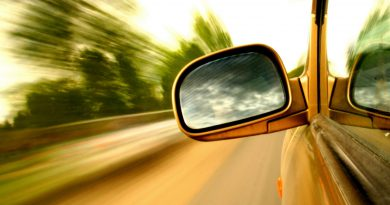 Adjust Your Car Mirrors for safety