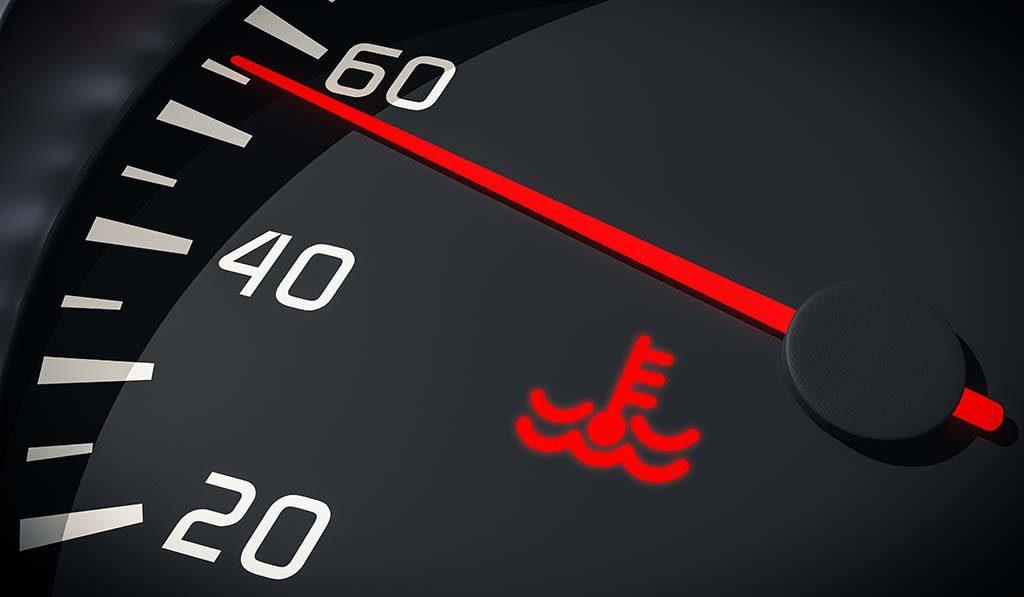 What the coolant temperature warning light means