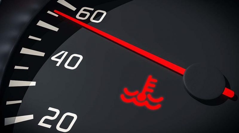 Car Temperature Shows On Dashboard