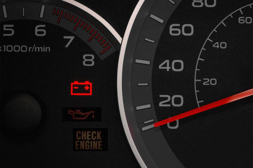Battery Error in Dashboard Warning Light