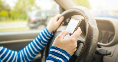 social media and driving