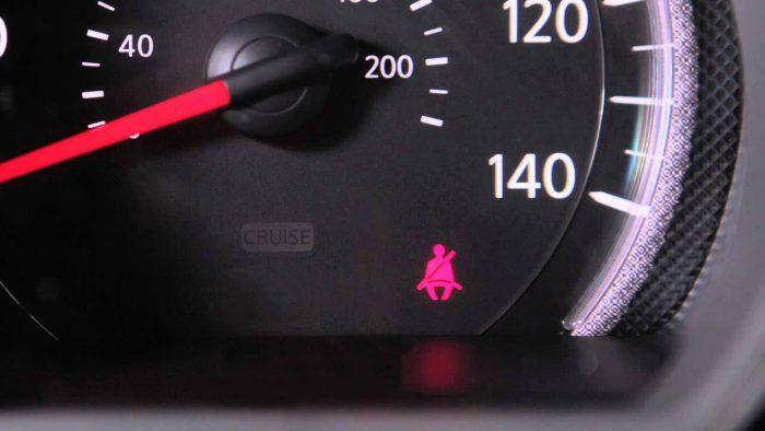 Seat Belt Car dashboard warning lights