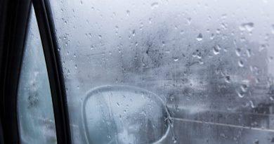 condensation inside car
