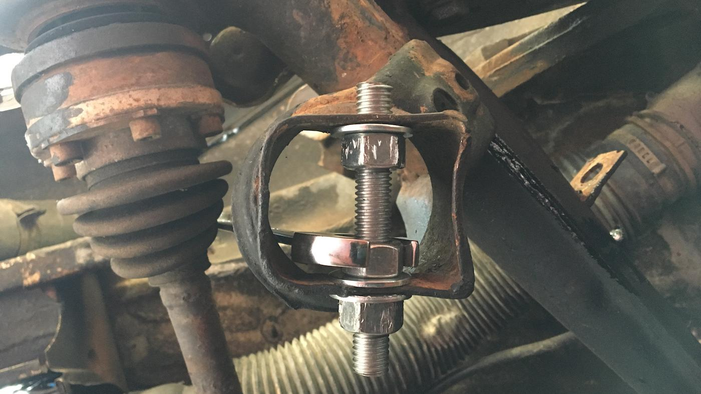 Remove Stuck Lower Control Arm Bolts Car From Japan