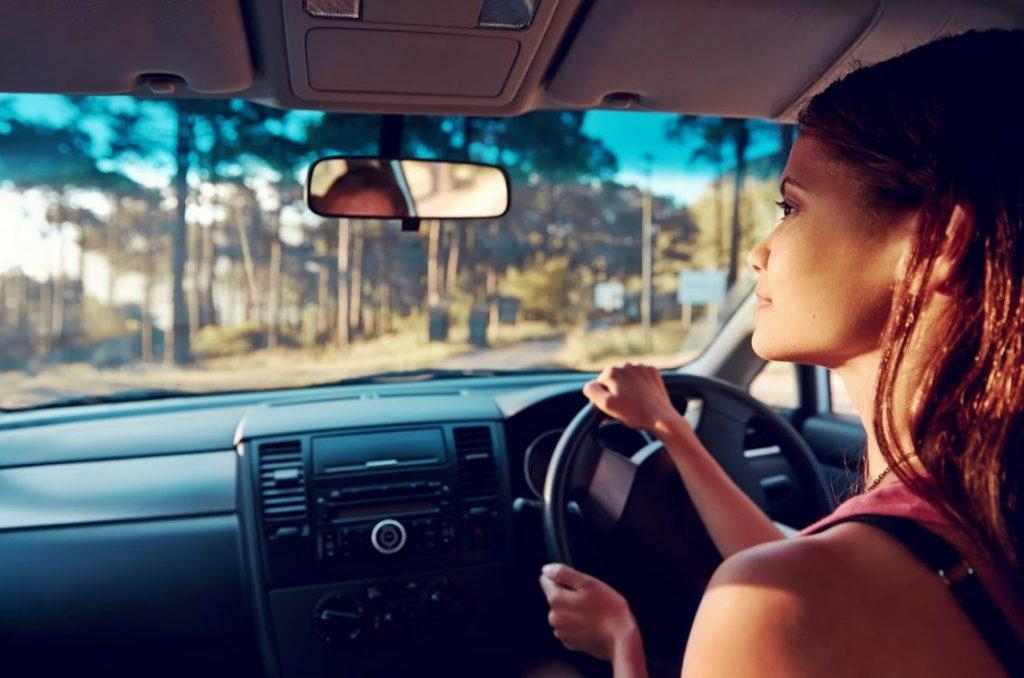 Driving tips in heavy traffic