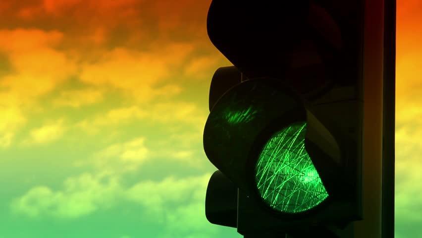 stop light colors