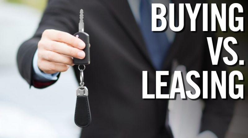 Leasing vs. Buying A Car