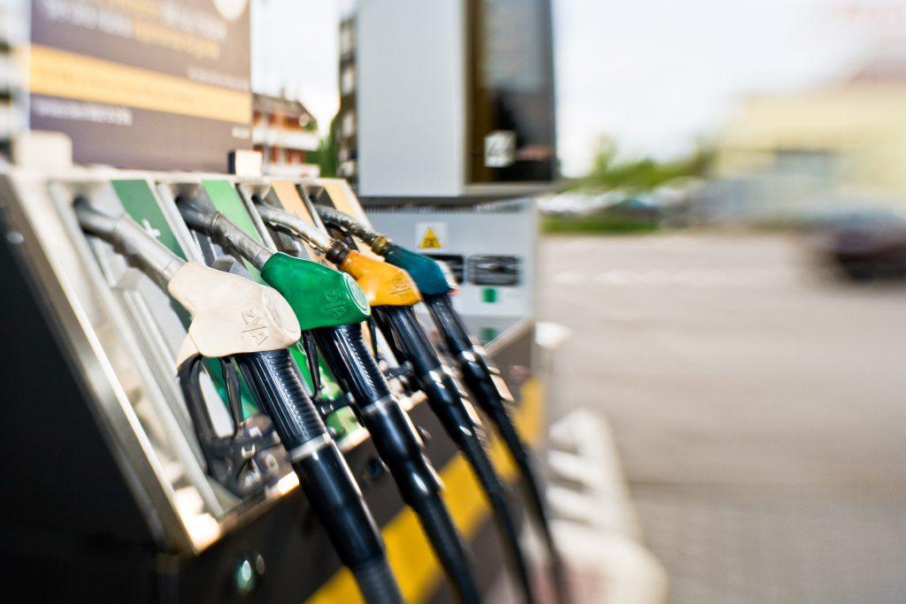 Put premium gas in a regular gas car on fuel pump
